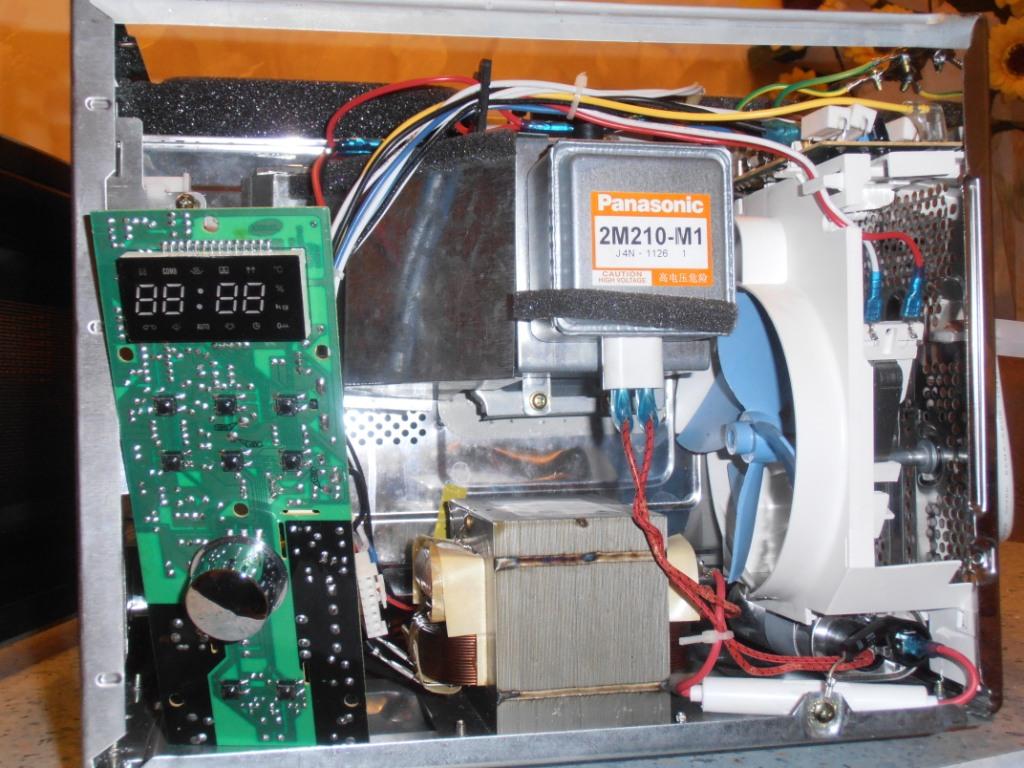Ремонт микроволновая печь samsung своими руками