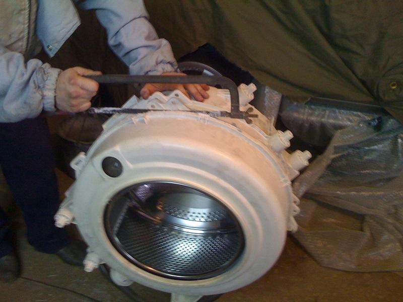 Замена подшипника стиральной машины