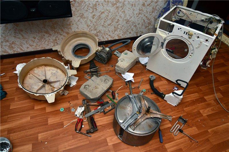 Замена подшипника на стиральной машине атлант