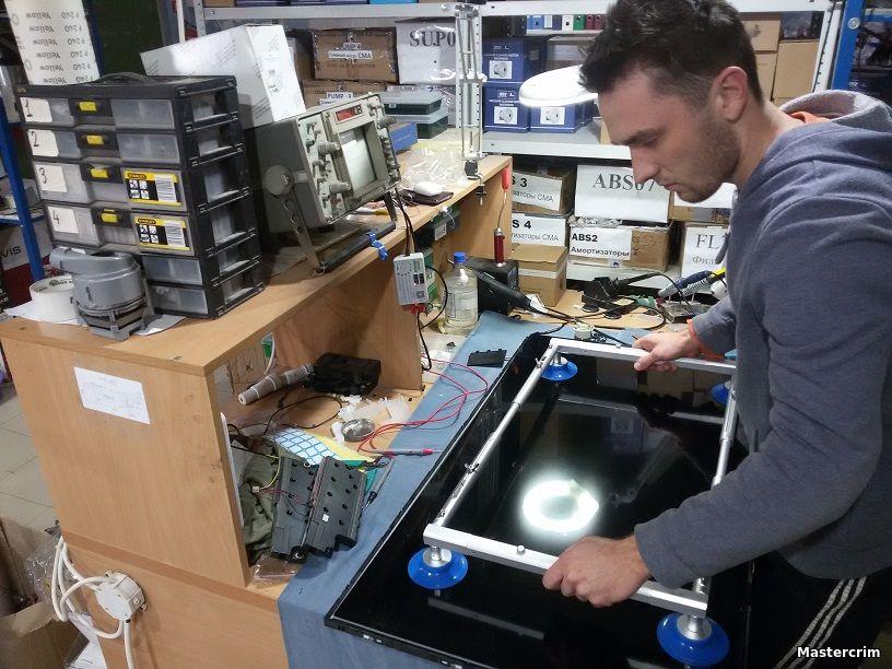 Ремонт LCD, LED, плазменных телевизоров в симферополе - снятие матрицы, экрана